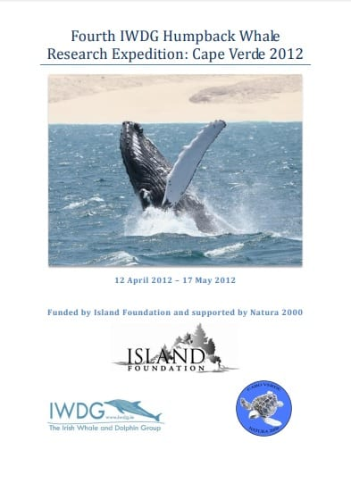 Cape Verde Humpback Expedition 2012 report