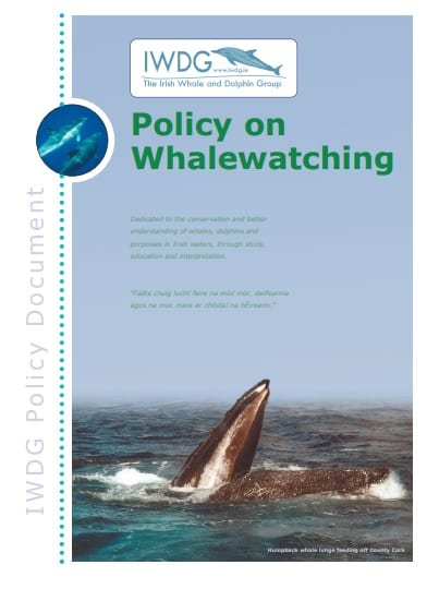 Whalewatching Policy Document